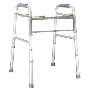 MediChoice Walker, Adjustable 31'-38', Aluminum, Bariatric - 600 lbs Capacity, 2867BAR806 (Case of 2) by MediChoice