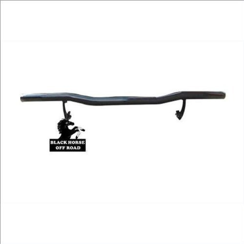 BLACK HORSE Off Road 8KISOA Black Rear Bumper Guard Single Tube ()