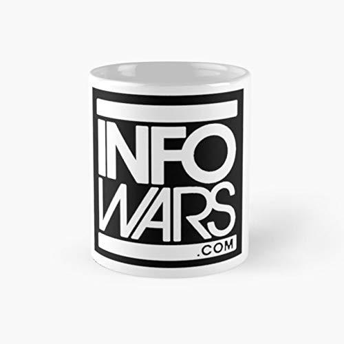INFOWARS.COM Mug, infowars Cup, 11 Ounce Ceramic Mug, Perfect Novelty Gift Mug, Funny Gift Mugs, Funny Coffee Mug 11oz, Tea Cups 11oz, Funny Mugs]()