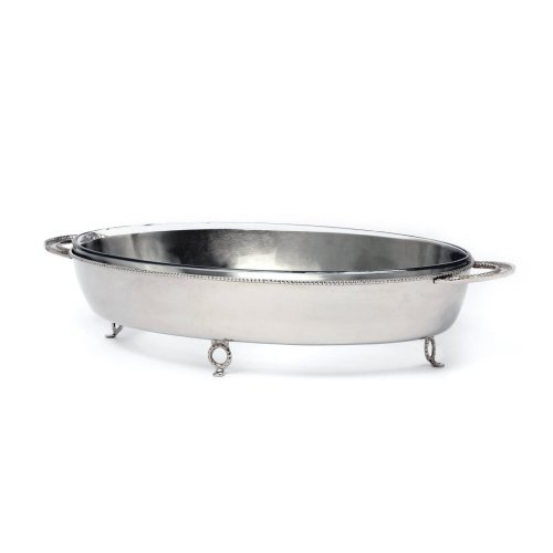 Star Home Georgian Oval Server with 4.2-Quart Baker by Home Star
