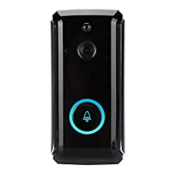 Smart Video Doorbell Hd 720p Wireless Home Security Camera Home Intercom System With Remote Real Time Video Two Way Talk Pir Motion Detection Ir Cut For Ios Android