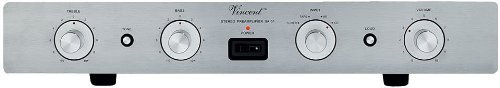 Vincent Audio - SA-31 Hybrid Stereo Preamplifier - Silver by Vincent Audio