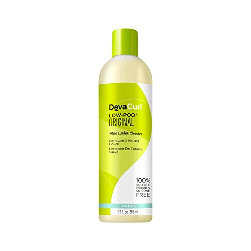 DevaCurl Low Poo Mild Lather Cleanser; 12oz