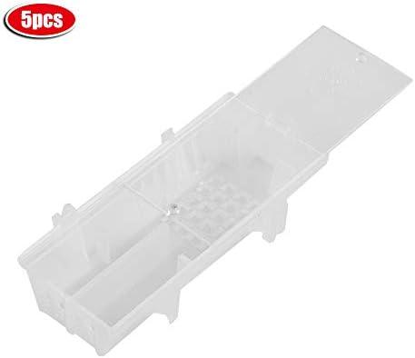 5ピース蜂ボックス養蜂プラスチック蜂の巣ケージキャプチャツール蜂キングケージモバイルデバイスマッチ