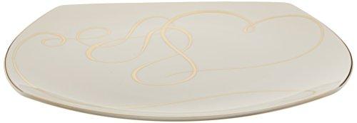 Mikasa Love Story Square Platter, 11.5