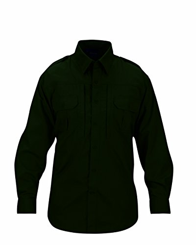 Propper Men's Long Sleeve Poplin Tactical Shirt, X-Large/2, Spruce