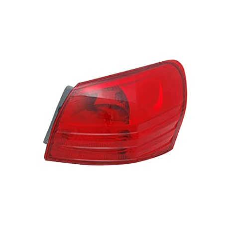 TYC 11-6336-00 Replacement Driver Side Tail Lamp for Nissan Rogue