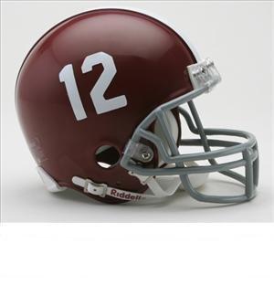 Riddell Mini Replica Helmet Alabama Crimson - Scale Helmet 1/2