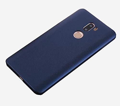 Baanuse Xiaomi 5S Plus Funda Xiaomi Mi5S Plus Funda, [Ultra Slim Soft TPU] [Sand Scrub Non-Slip] [Shockproof Armor] Carcasa para Xiaomi 5S Plus Azul