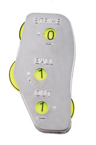 Champion Sports 3-Wheel Umpire Indicator in Optic Yellow - Set of 12