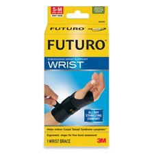 Energizing Wrist Support, S/M, Right Hand, Black, Sold as 1 Each