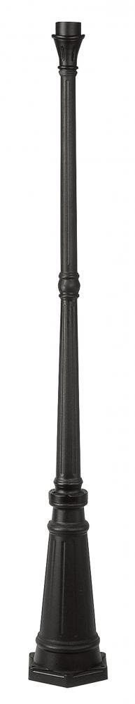 Black Post for Post Lights from Outdoor Basics Series - 9.5 Width x 74in. Height by Livex Lighting