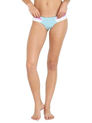 N.L.P Kali Bikini Bum White/Rose Smoothly/Aqua Marine