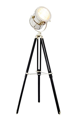 Brass Nautical Large Spotlight vintage floor lamps Replica by Brass Nautical