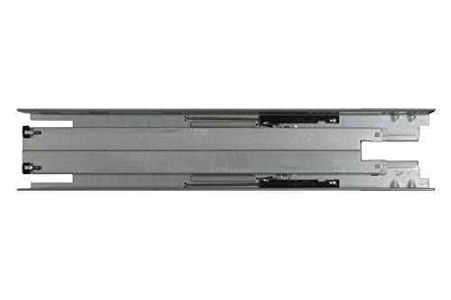 Silverline SFUS - 18'' Undermount Drawer Slide 75 lb Soft Closing Full Extension Cabinet Hardware 6 Pairs by SILVERLINE HARDWARE (Image #5)