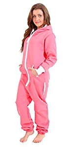 Juicy Trendz Ladies Women's Onesie Hoodie Jumpsuit Playsuit All In One Piece