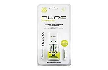 Pure energy M130211 - Cargador de pilas alcalinas: Amazon.es ...