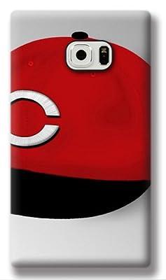 Samsung Galaxy Note 5 Case, Victor MLB Cincinnati Reds Hat Hard PC Case for Note 5