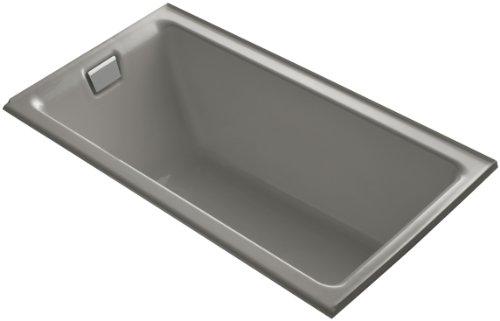 Kohler K-855-L-K4 Tea-For-Two 5.5Ft Bath with Integral Tile Flange and Left-Hand Drain, Cashmere ()