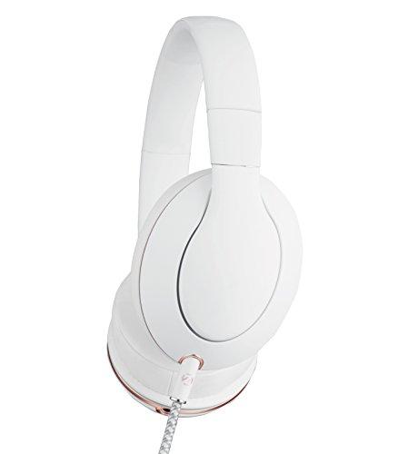 Double Zero 001 WHITE headphones