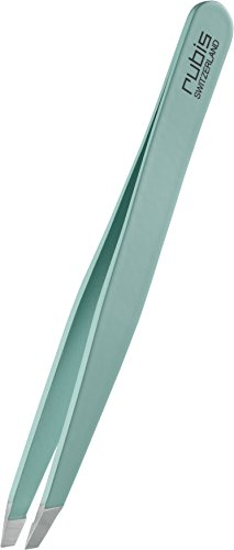 Rubis Switzerland Satin Tiffany Slanted Tweezer by Rubis