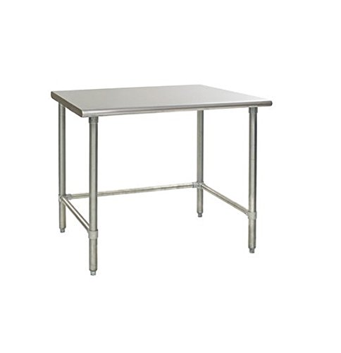 Heavy Duty Stainless Steel Prep Work Table with Crossbar 30 x 72 - NSF -