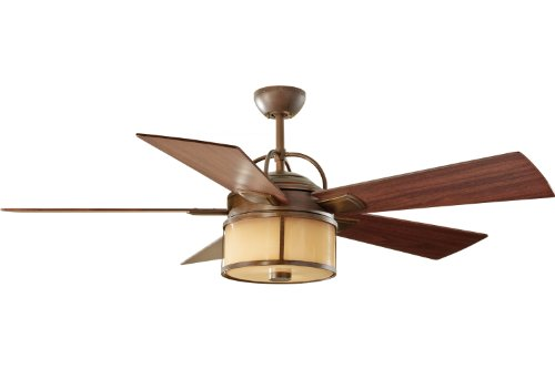 Monte Carlo 5DKR52HBD Damp Location Dakota Ceiling Fan