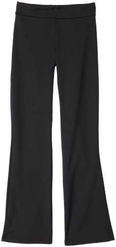 Capezio Big Girls' Pant,Black,L (12-14)