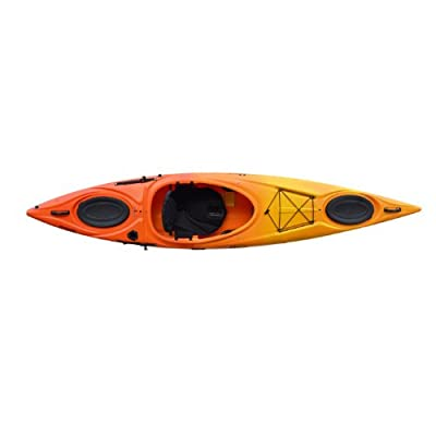 Enduro 12 Riot Kayaks Yellow/Orange 12ft HV Flatwater Day Touring Kayak
