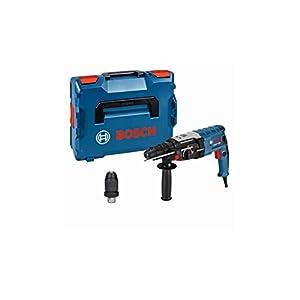 Bosch Professional 0611267601 Perforatore con Attacco SDS Plus GBH 2-28 F, Mandrino Autoserrante 13 mm, Portautensili… 31zUCiHc8ZL. SS300