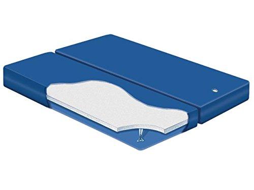 Shallow Fill Waterbed - California King Dual Shallow Fill Waterbed Mattress with Liner and Fill&Drain Kit