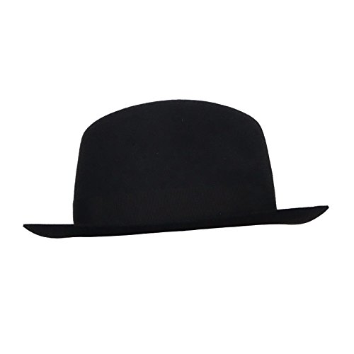 Borsalino cappello donna nero con nastro nero tesa piccola mod 370365 100%  feltro MADE IN ITALY (L)  Amazon.it  Abbigliamento ec403cb01bb3