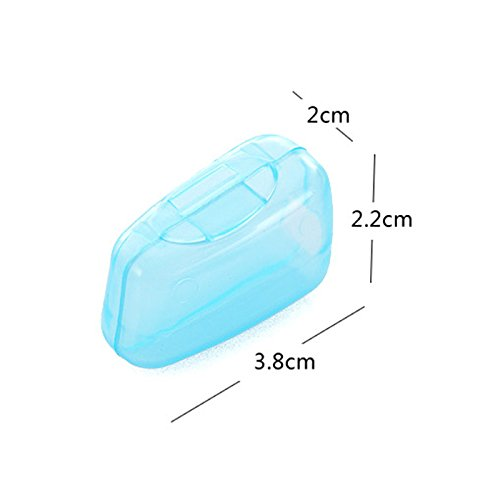 HuaYang Portable Travel Toothbrush Head Cover Case Protective Caps Health Germproof 5Pcs