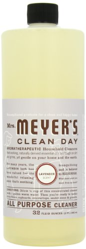 (Mrs. Meyer's Clean Day All Purpose Cleaner, Lavender, 32-Ounce Bottles (Case of 6))