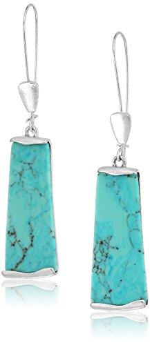 Turquoise Stone Drop - 6