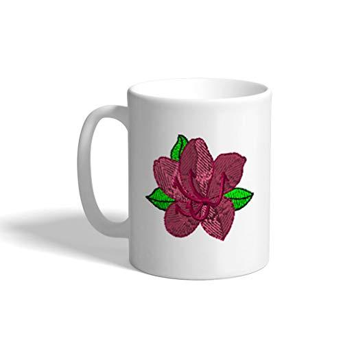 Ceramic Funny Coffee Mug Coffee Cup Azalea White Tea Cup 11 - Azalea Cup