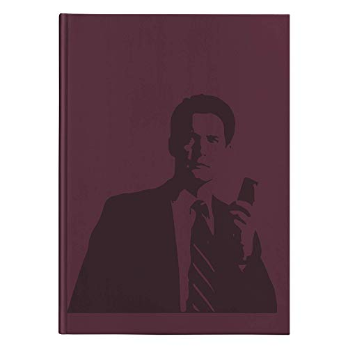 - Twin Peaks - Dale Cooper with Recorder Hardcover Journal, Diary