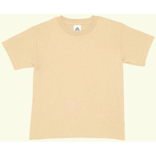 Tan Boys Shirt (Outdoor Boys Short Sleeve T-Shirt Large Sand Tan)