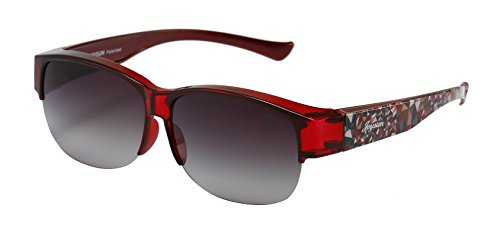 4a6faa6def6 Joysun Unisex Polarized LensCovers Sunglasses Wear Over Prescription Glasses  8008