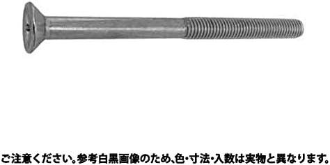 (+)皿小ねじ(ねじ部50 表面処理(クロメ-ト(六価-有色クロメート)) 規格(4X250X50) 入数(300)