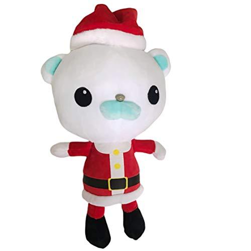 Tukiilo Octonauts Toys, Barnacles Plush, Santa Claus Plush 12
