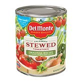 Del Monte Original Recipe Stewed Tomatoes With Onions, Celery & Green Peppers, 28 oz