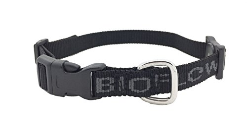 Bioflow Magnetic Dog Collar (Black, Large (Up to 25.6in/65cm))
