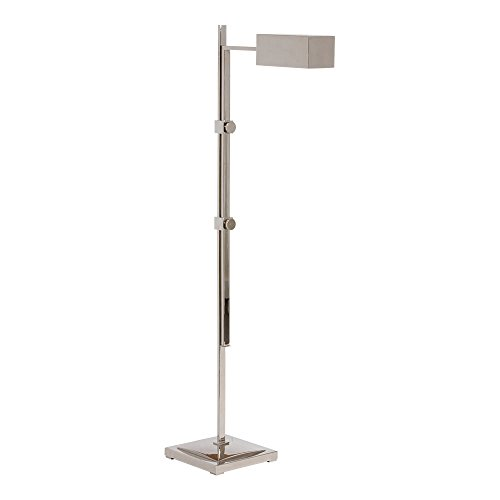 Nickel Polished Lamp Pharmacy - Ethan Allen Macie Pharmacy Floor Lamp, Polished Nickel