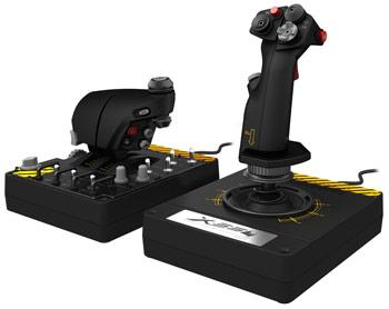 Saitek Pro Flight X-55 Rhino H.O.T.A.S. (Hands on Throttle and Stick) System for PC