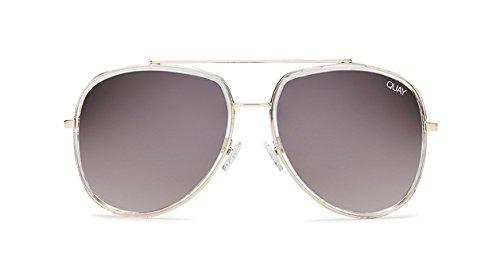 Quay Australia NEEDING FAME Women's Sunglasses Bold Aviator - - Like Sunglasses