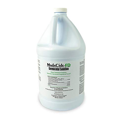 Madacide 1 Cleaner Disinfectant - LY7021 - Madacide Fd Cleaner/Disinfectant, 1 Gal Bottle