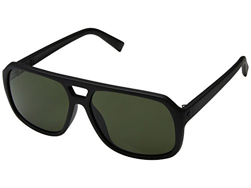 Electric Dude Sunglasses Matte Black with Ohm Grey - Dude Sunglasses