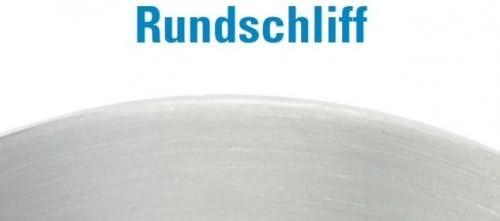einseitig geschliffen Ronde /ø 150mm St/ärke 6mm mit Rundschliff