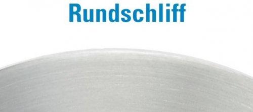 St/ärke 4mm einseitig und Rand geschliffen mit /ø 34mm Mittelbohrung mit Rundschliff Ronde /ø 80mm